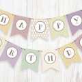 Creative Crush free printable birthday banner