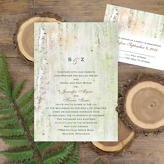 We're loving: natural weddings
