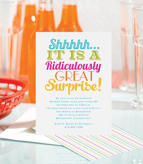 5 tips for throwing a successful surprise party