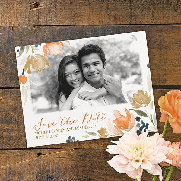 We're loving: autumn save the dates