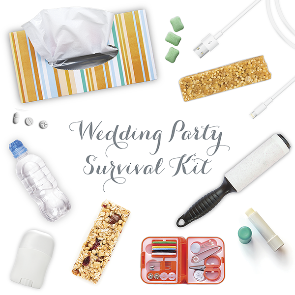 Wedding Party Survival Kit