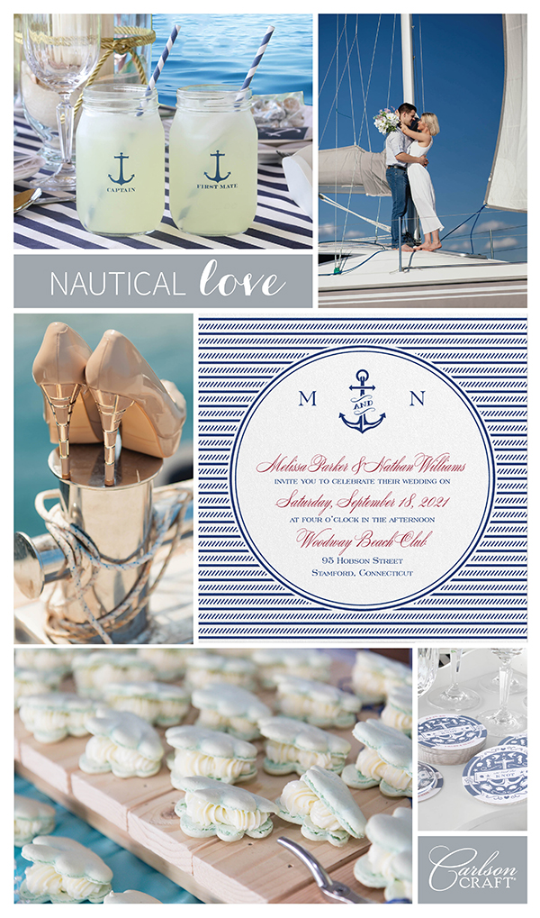 Wedding Inspiration: Nautical Love