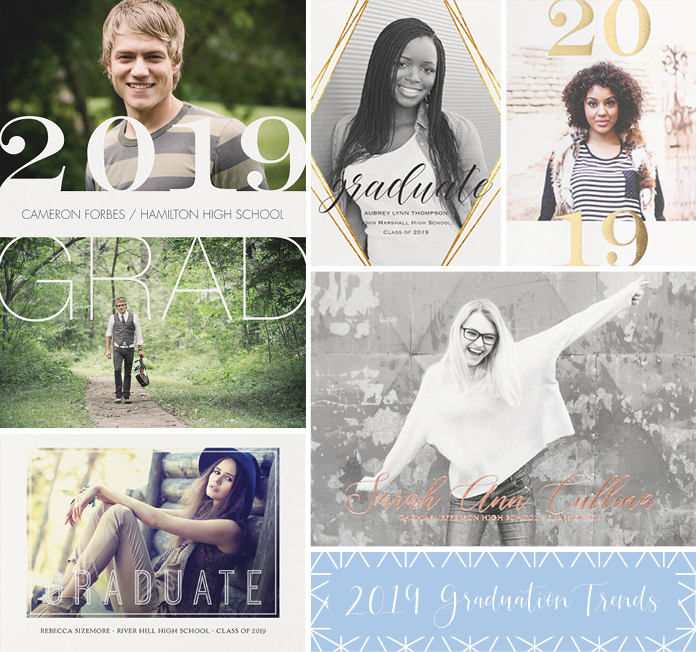 Trendy Graduation Invites